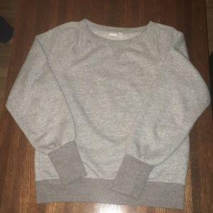 Heather Gray Sweatshirt